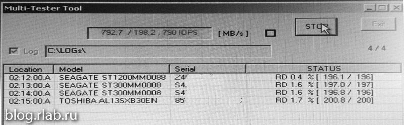 Диски SAS3 (12G) на контроллере SAS (3.0G)