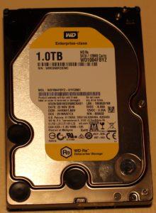 Жёсткий диск WD Re WD1004FBYZ