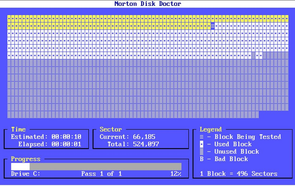 Norton Disk Doctor