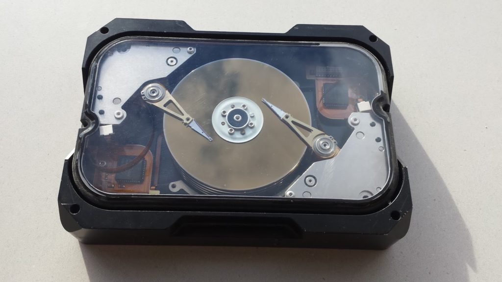 Cobber Chinook - жёсткий диск с двумя блоками головок