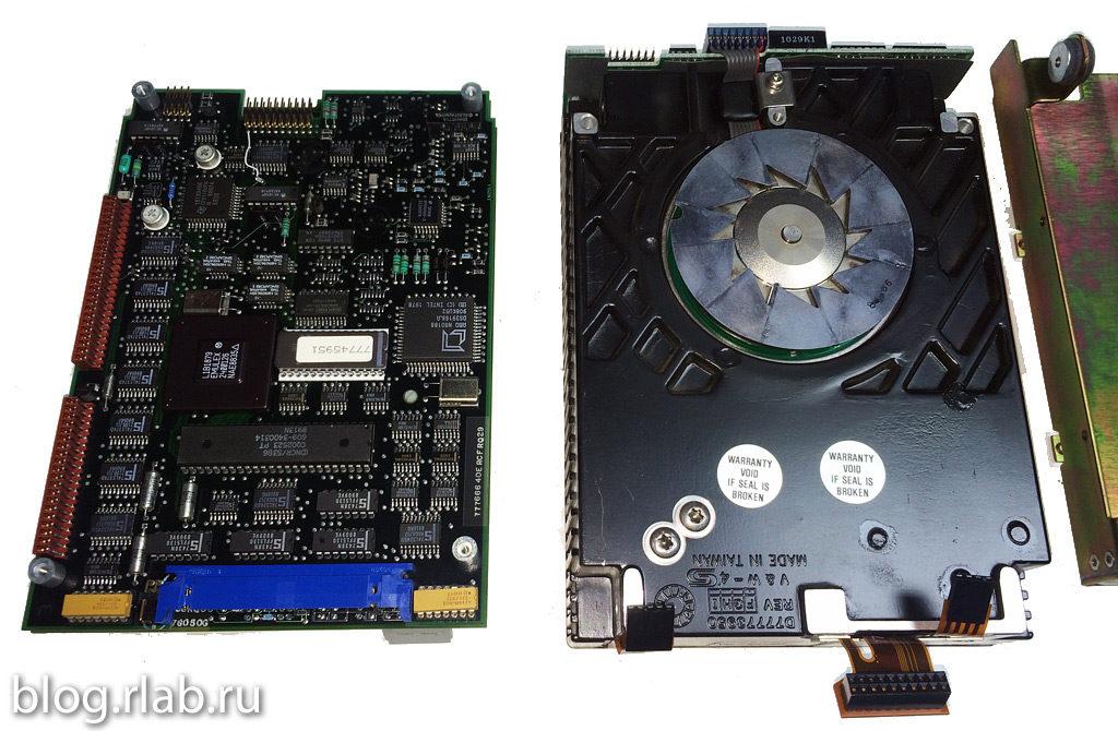 """Плата и корпус 5.25"""" диска Imprimis 94171-307"""