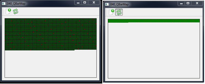 QBarMap program example