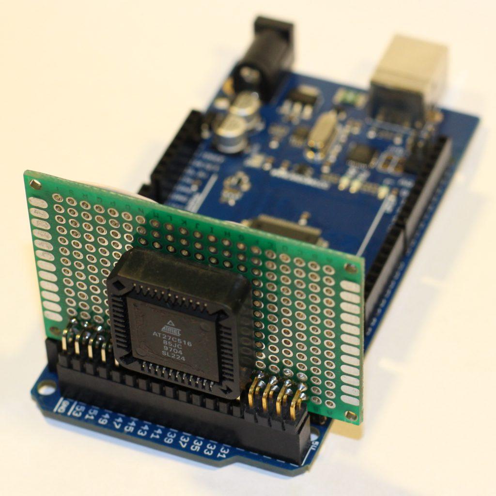 Подключение к Arduino ПЗУ AT27C516